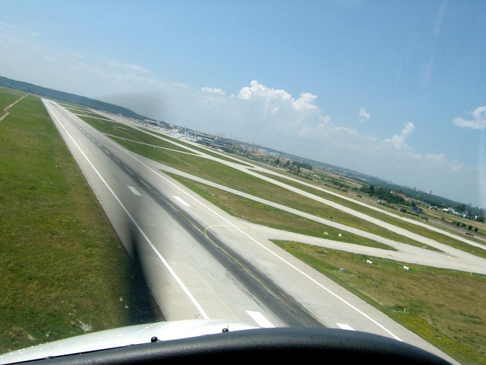 short approach -- long landing