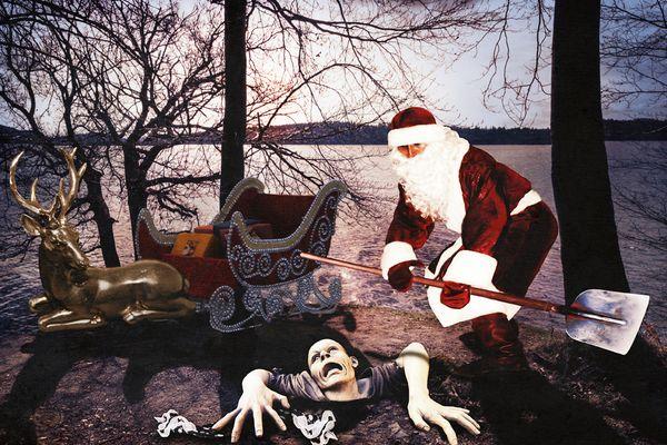 """Showdown im Morgengraun: """"Jetzt ist aber Schluss mit Halloween! Wir ha'm schon fast Weihnachten!"""""""
