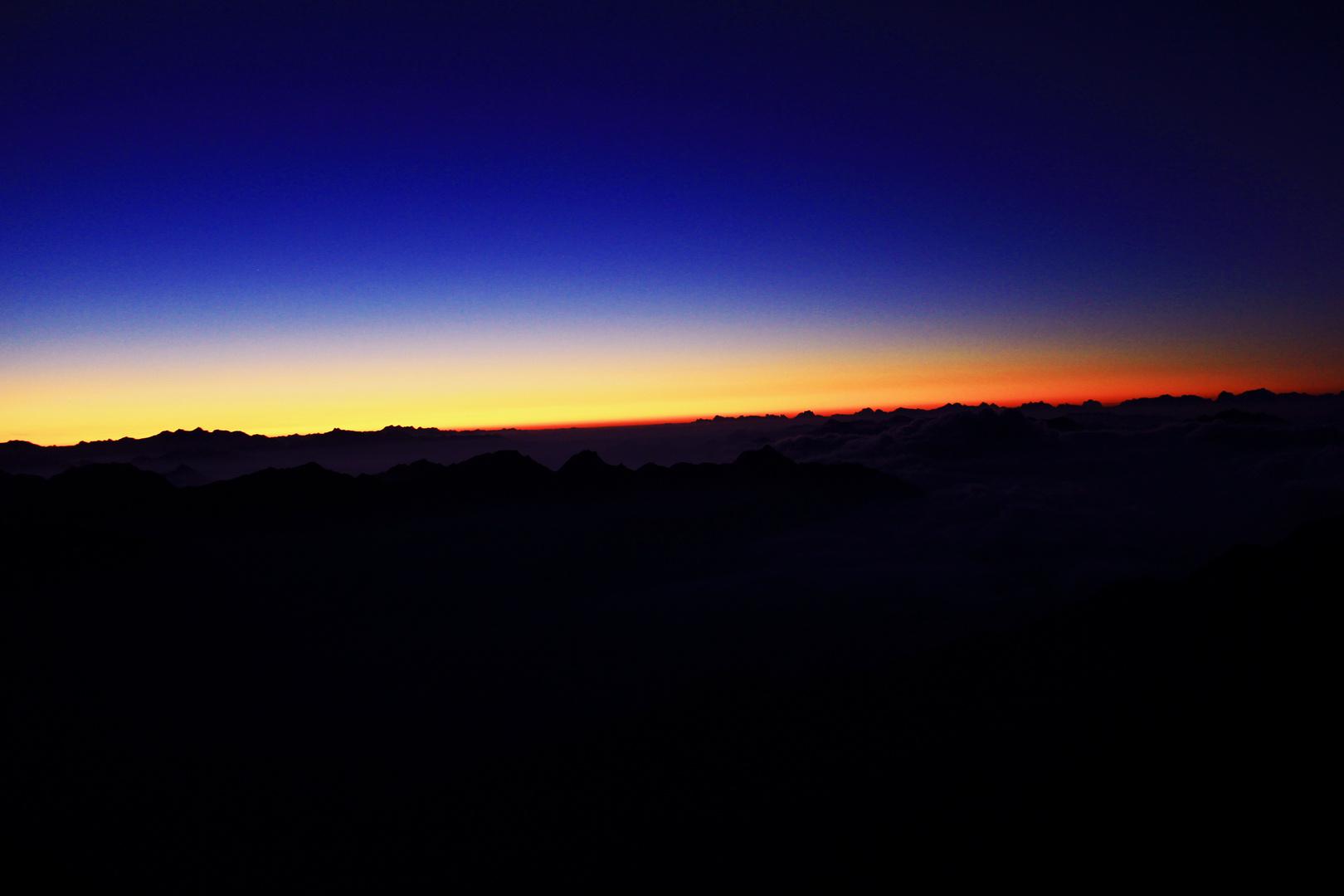 Showdown über den Wolken auf 3082m