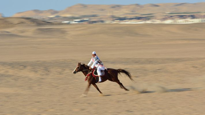 Showman der Wüste