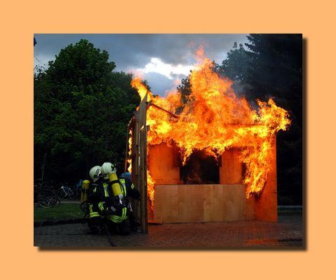 Showübung Küchenbrand