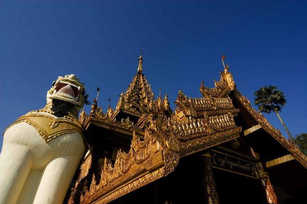 Shwedagon Südeingang
