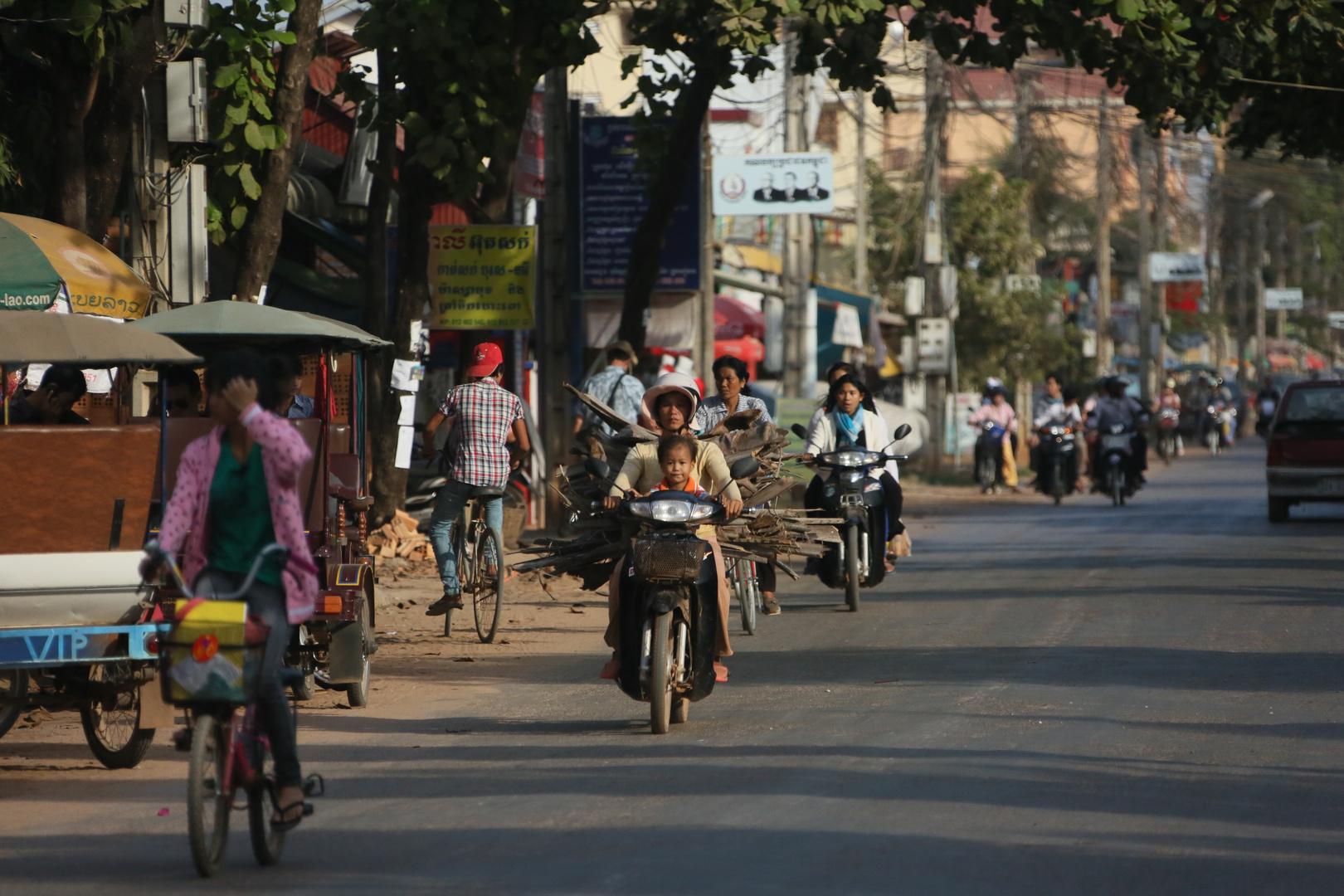 Siam Reap Straßenleben