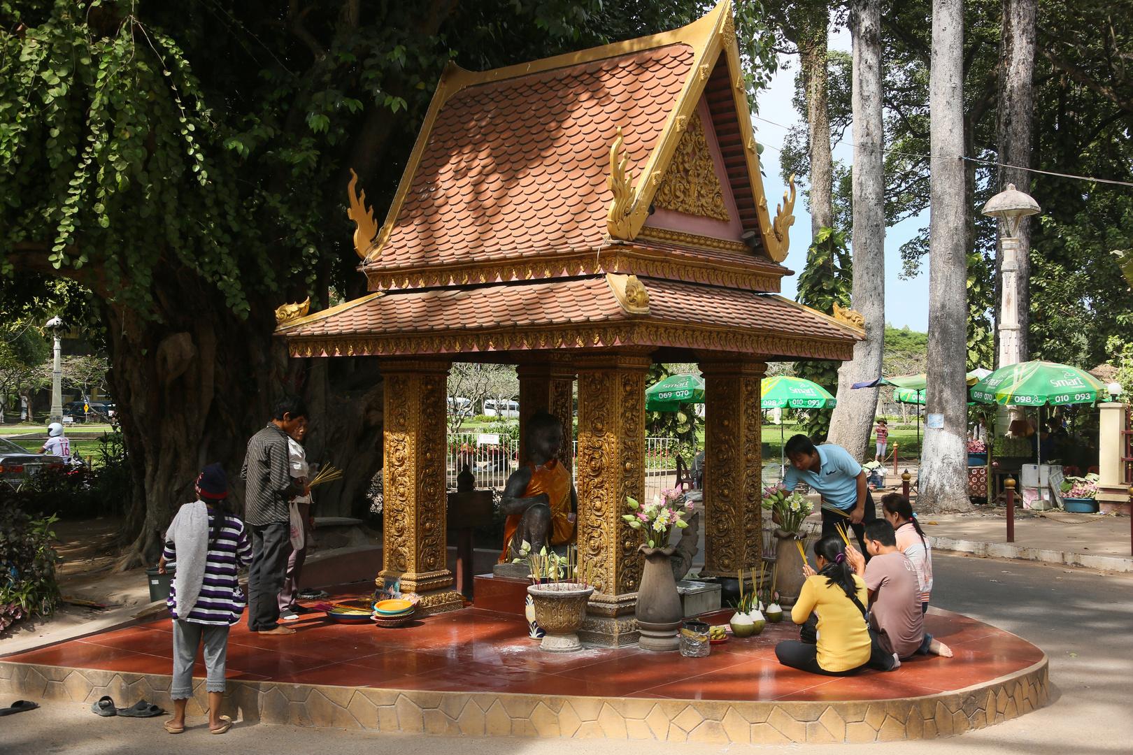 Siam Reap Straßentempel