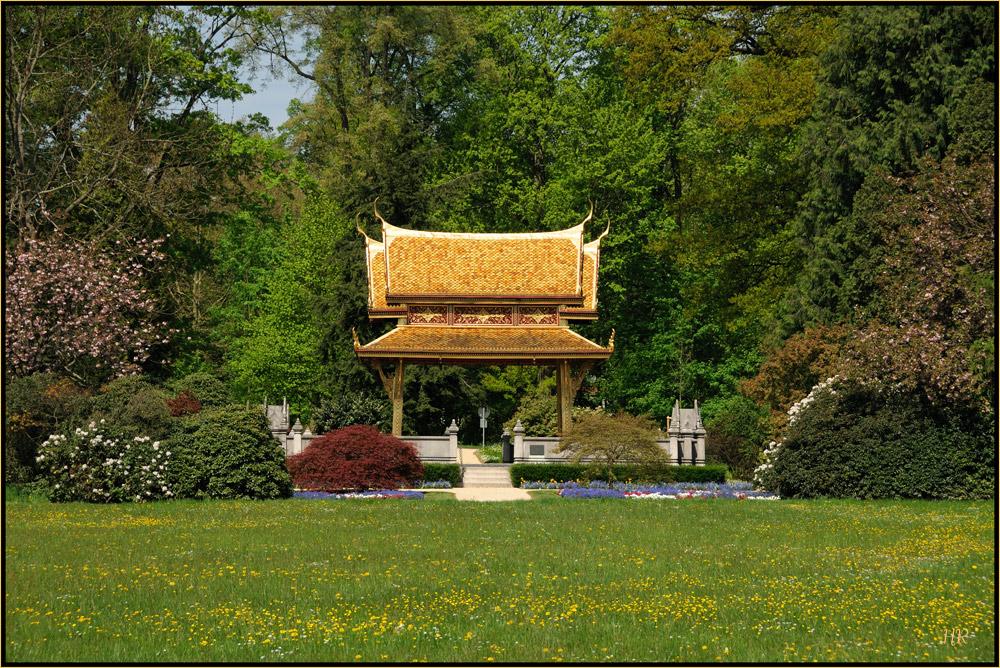 Siamesischer Tempel (Sala-ThaiI) 2 in Bad Homburg vor der Höhe.
