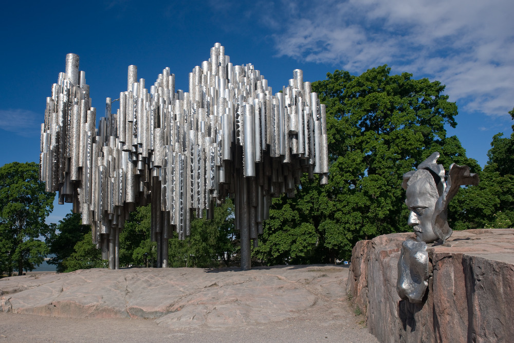 Sibelius Monument in HKI