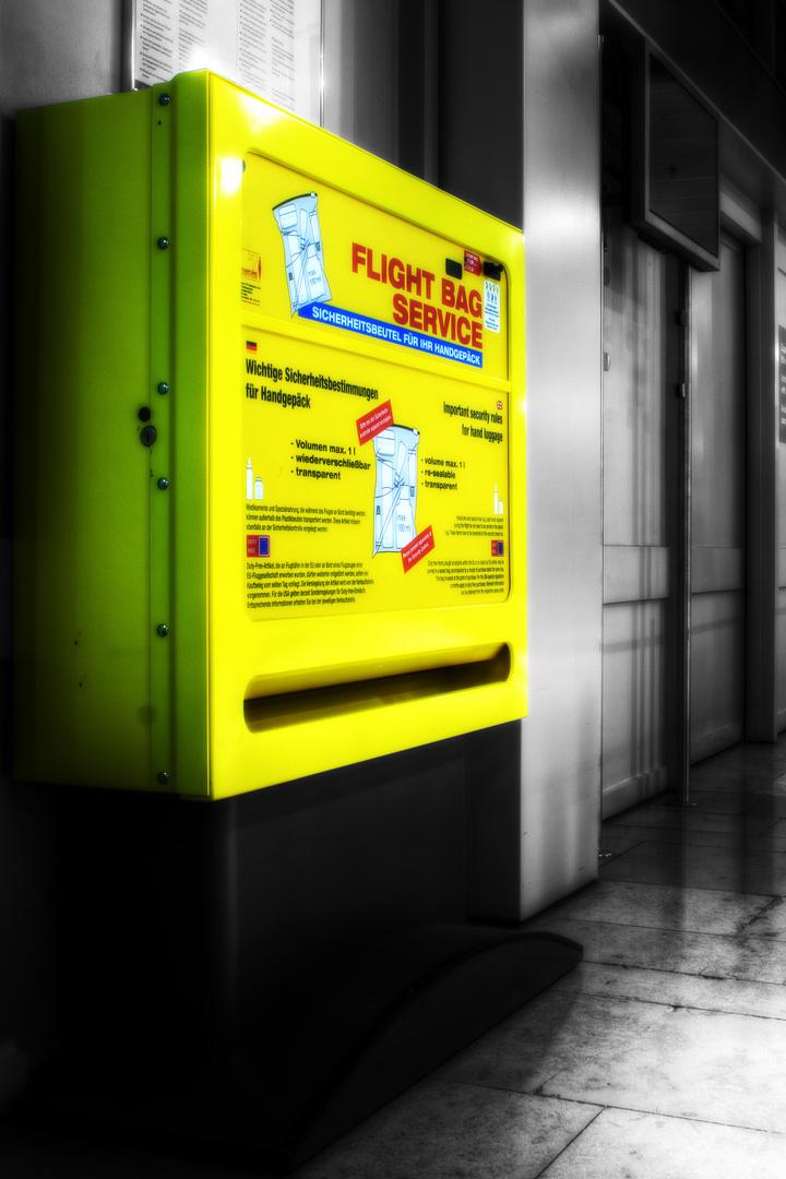 Sicherheit auf Flügen aus dem Automat