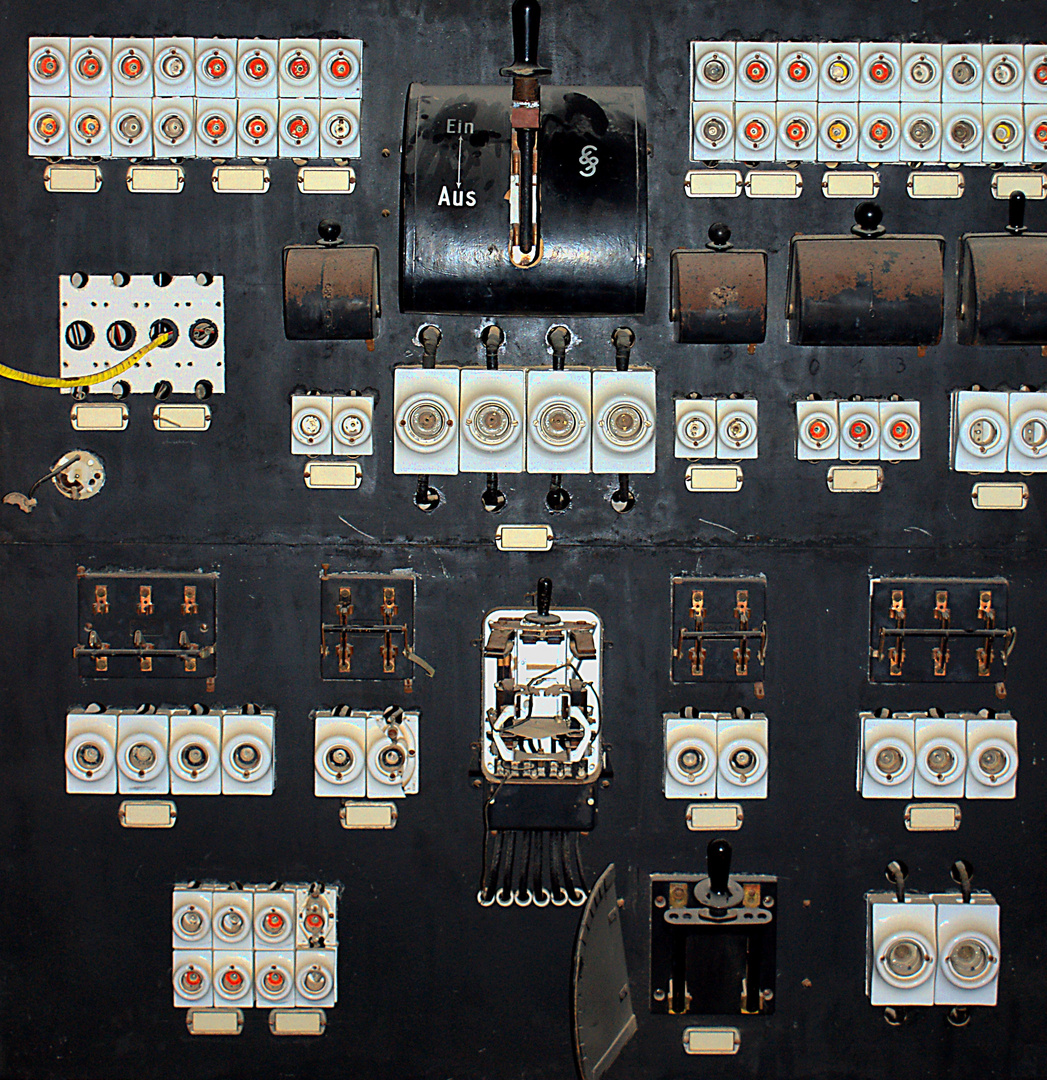 Sicherungskasten in Kolmannskuppe