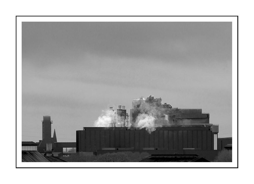 Sicht 2 vom Hüttenwerk Duisburg / vue du haut fourneau