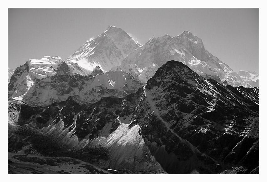 Sicht auf den Everest