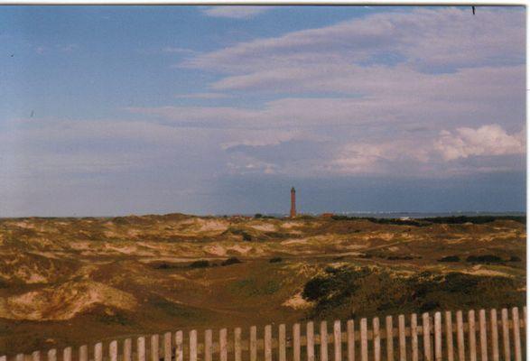 Sicht auf den Leuchturm von Norderney