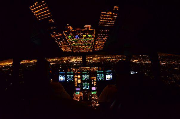 Sicht eines Piloten