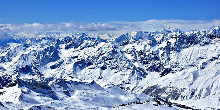 Sicht vom kl.Matterhorn