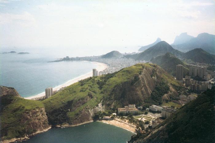 Sicht vom Zuckerhut auf Rio