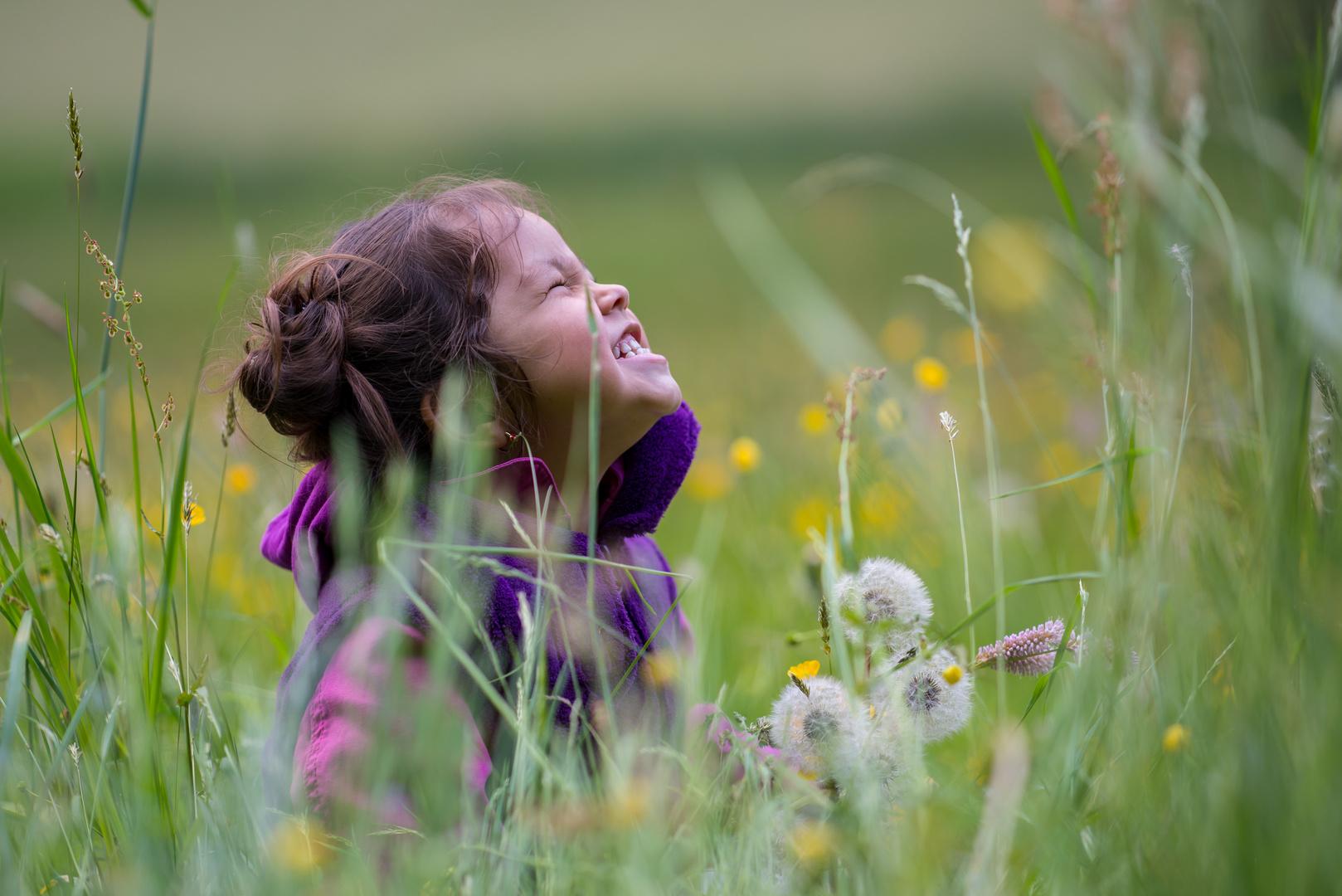 Sichtbare Freude