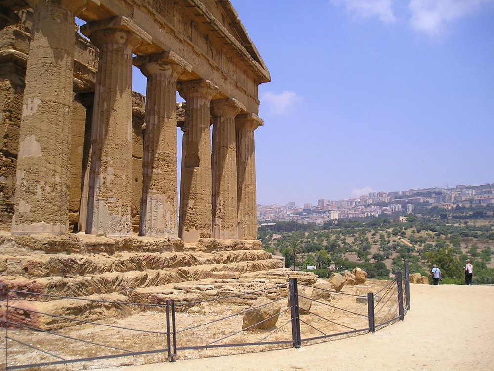 Sicilia -Agrigento- valledei templi
