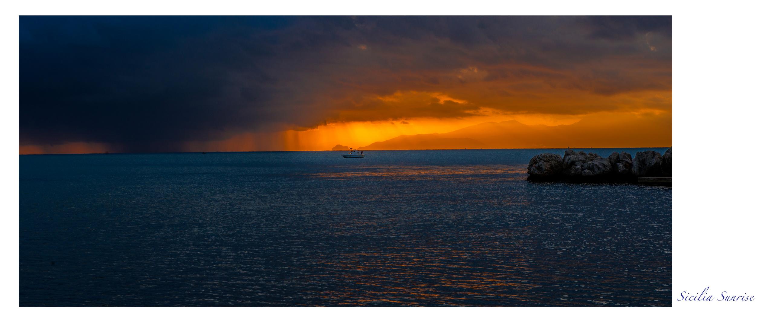 Sicilia Sunreise