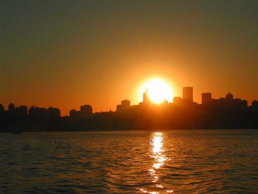 Sidney - Sonneuntergang