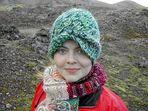 Sie ist eine echte Isländerin