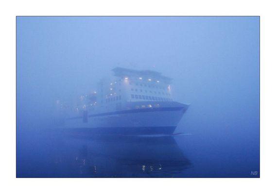 Sie kam aus dem Nebel...