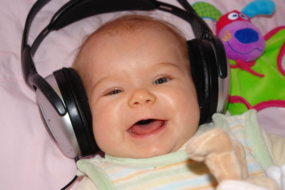 Sie liebt Musik...
