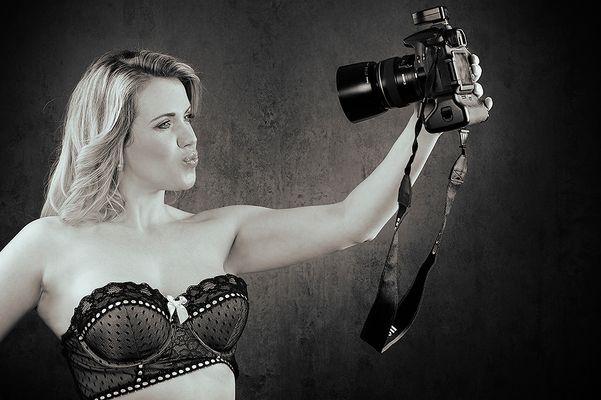 Sie liebt Selfies ;-)