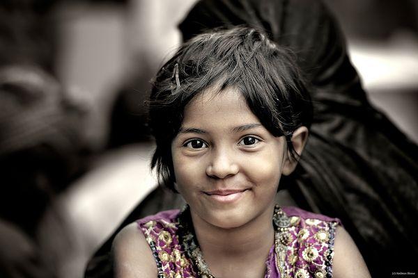Sie schenkte mir ihr Lächeln