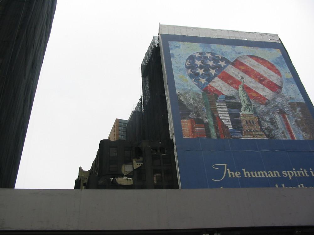Sie werden bleiben, die Spuren des Terrors in Manhattan