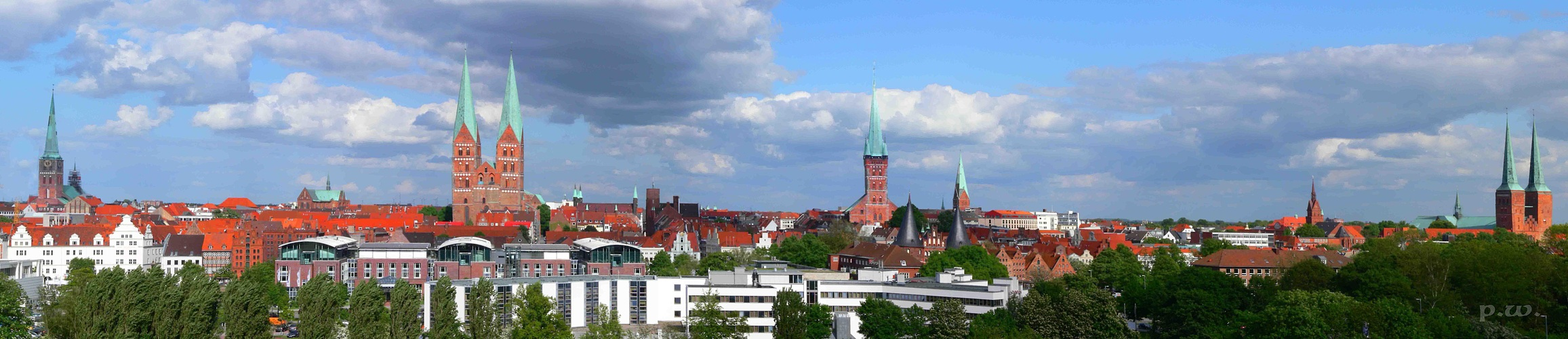 Lübeck Sieben Türme