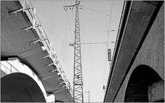 """Siebenbogen-Brücke """"Neu und Alt"""""""