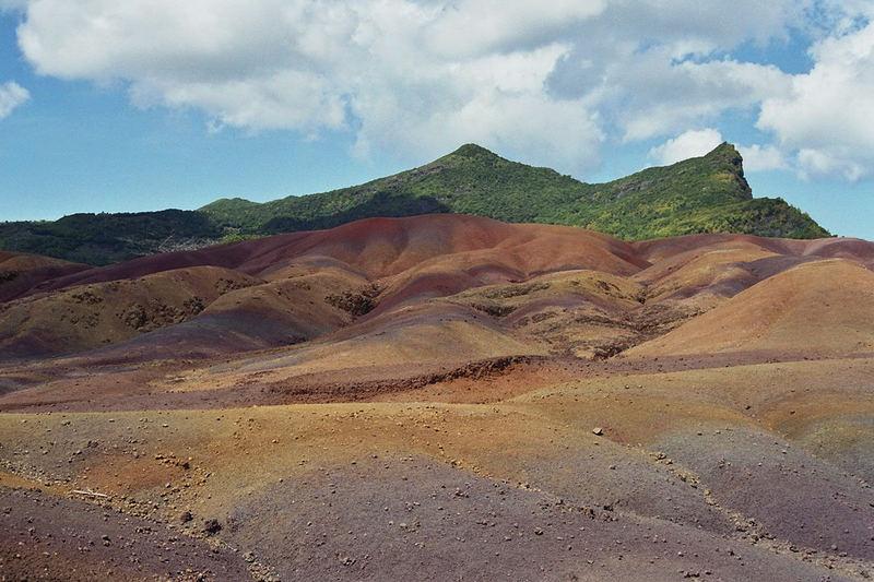 siebenfarbige Erde auf Mauritius