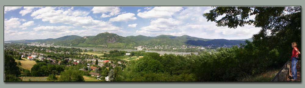 Siebengebirge Panorama
