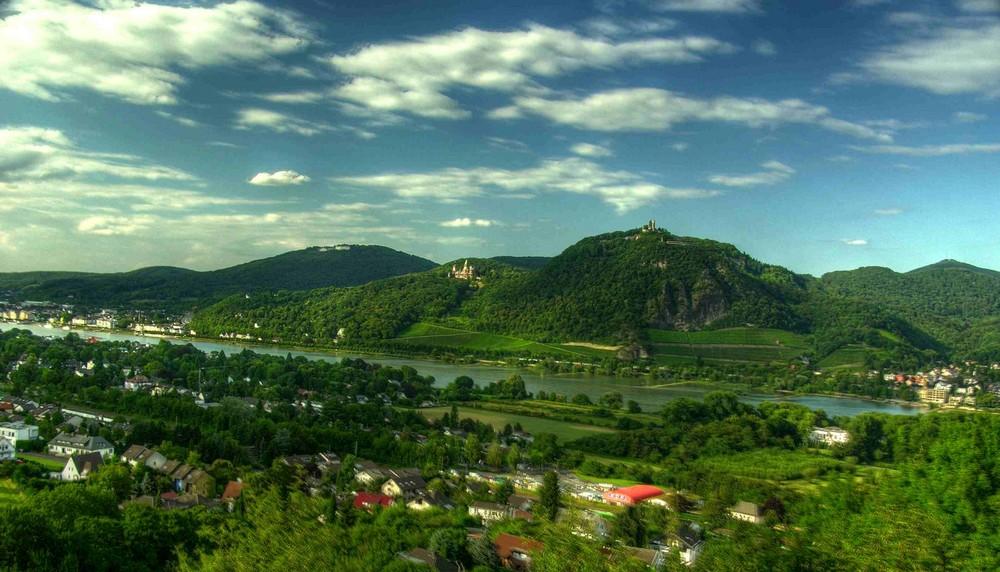 Siebengebirge-Panorama