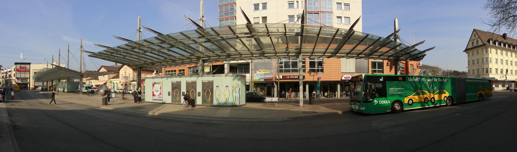 Siegen Busbahnhof . . .