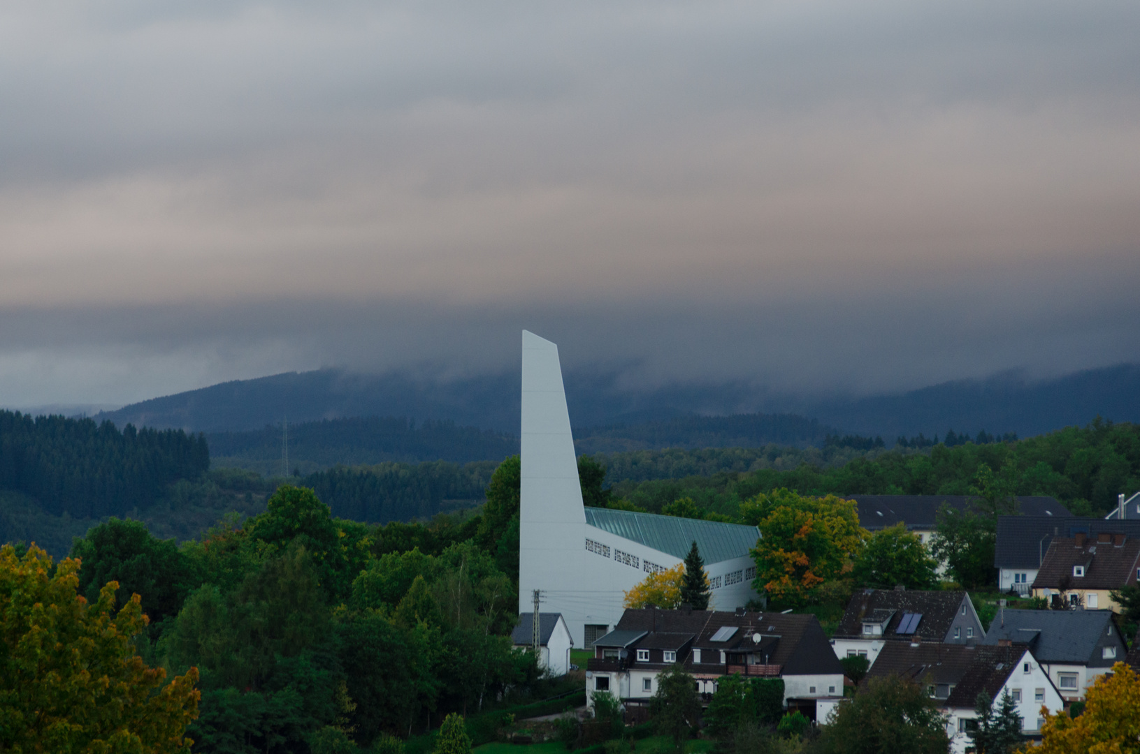 Siegen Christuskirche im Herbst
