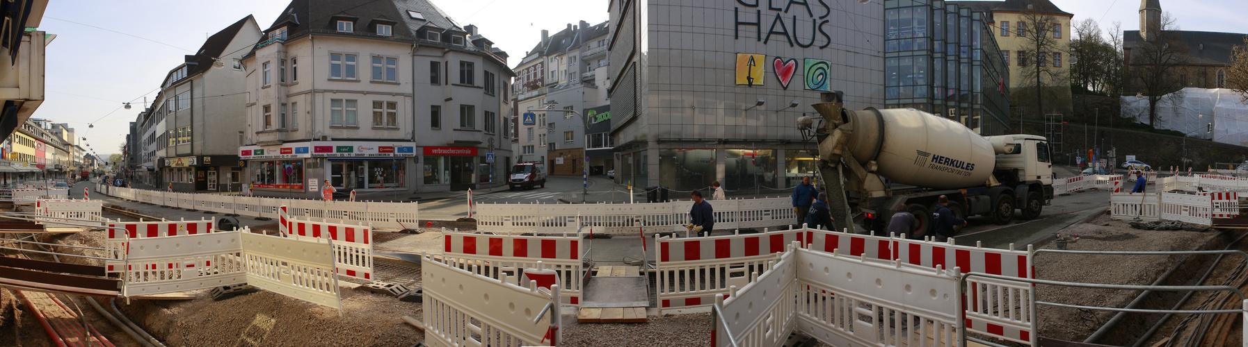 Siegens Kölner Tor.......Bitte warten.....