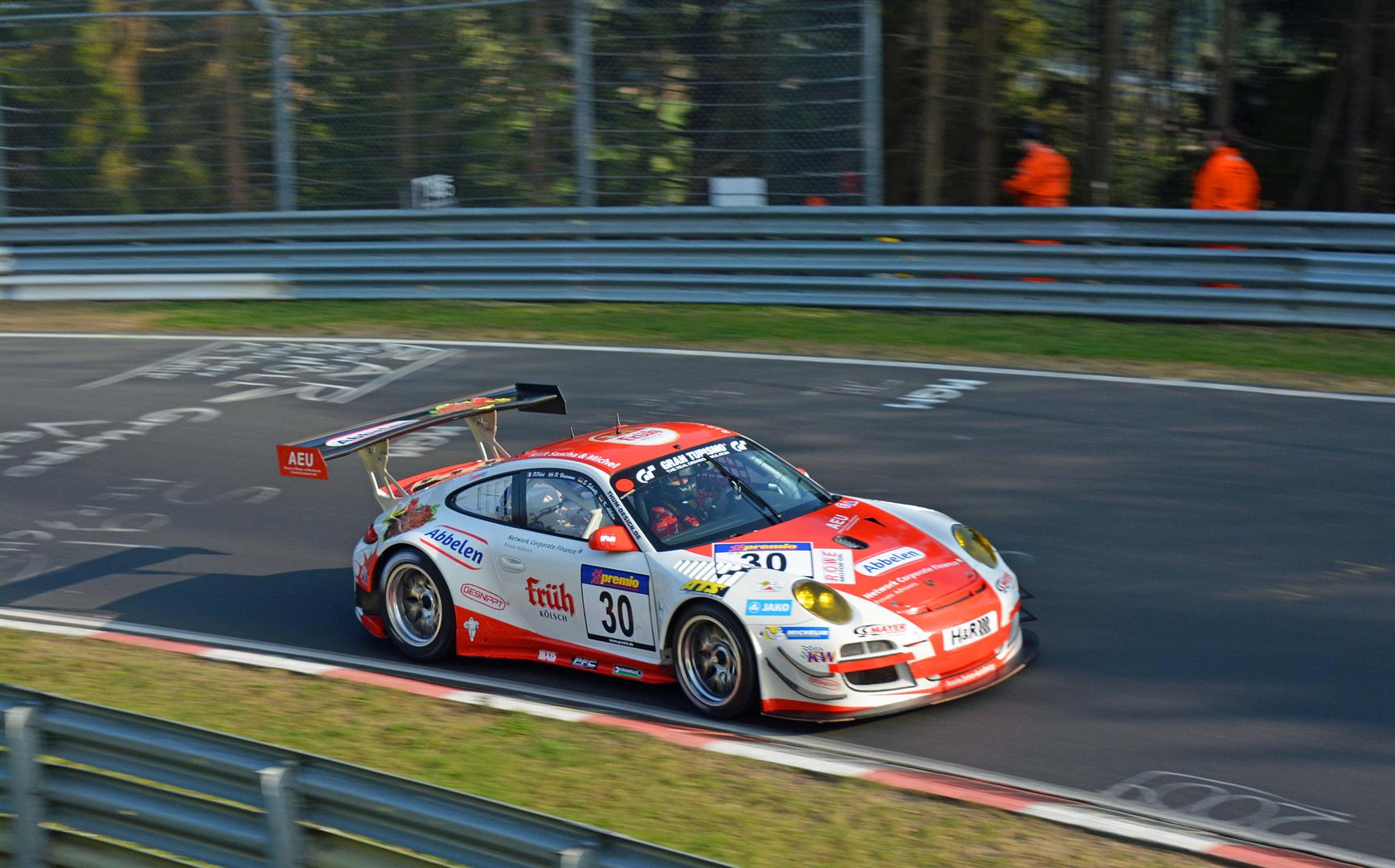 Sieger 2.Lauf VLN Frikadelli-Porsche