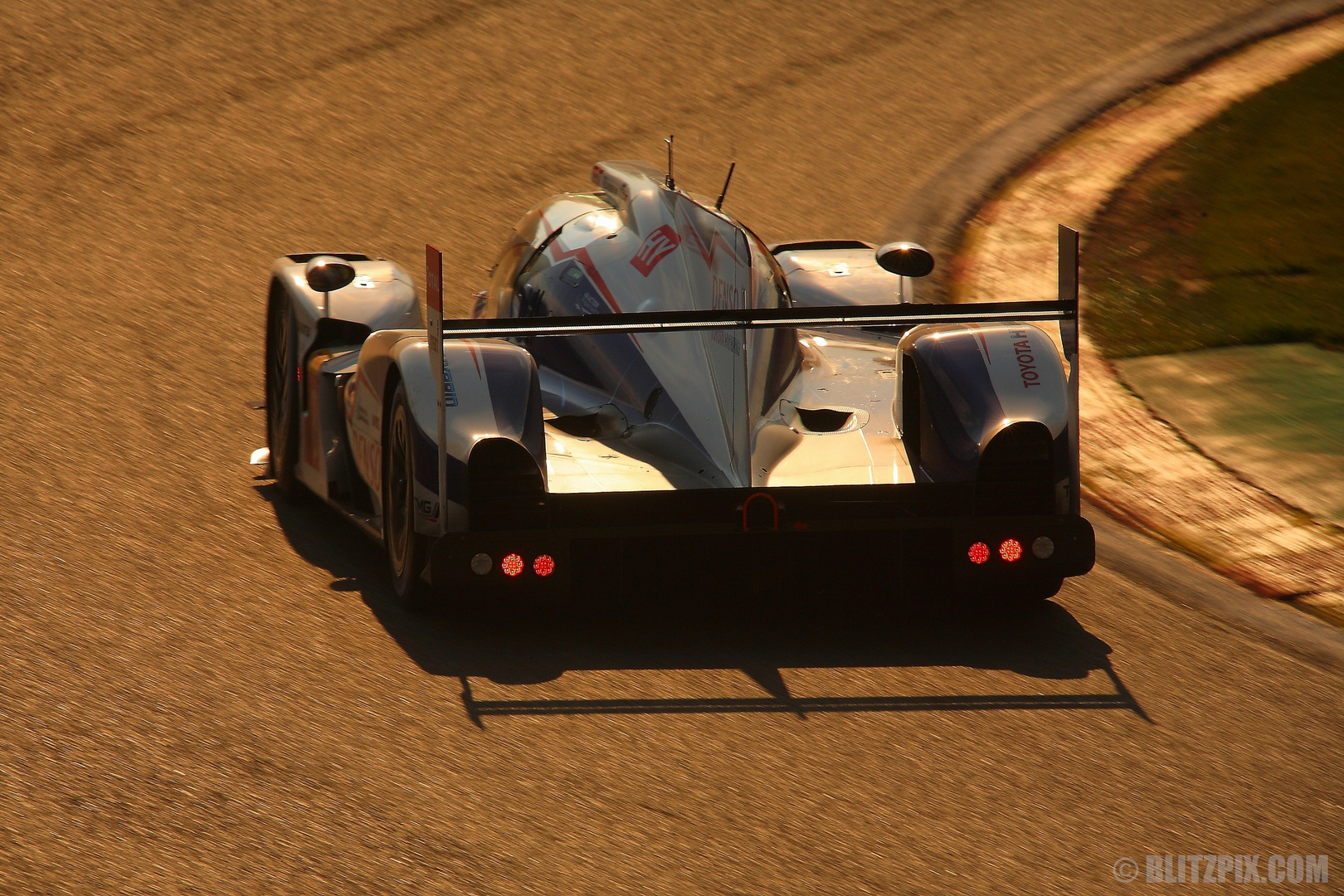 """ Sieger in der Abendsonne "" WEC Spa 2014"