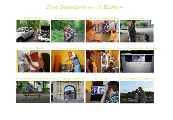 Siegerserie des Fotowettbewerbs Ansichtssache in Würzburg