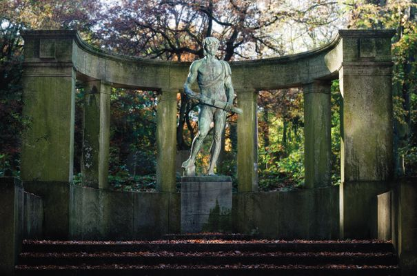 Siegfried-Denkmal auf dem Kaiserberg
