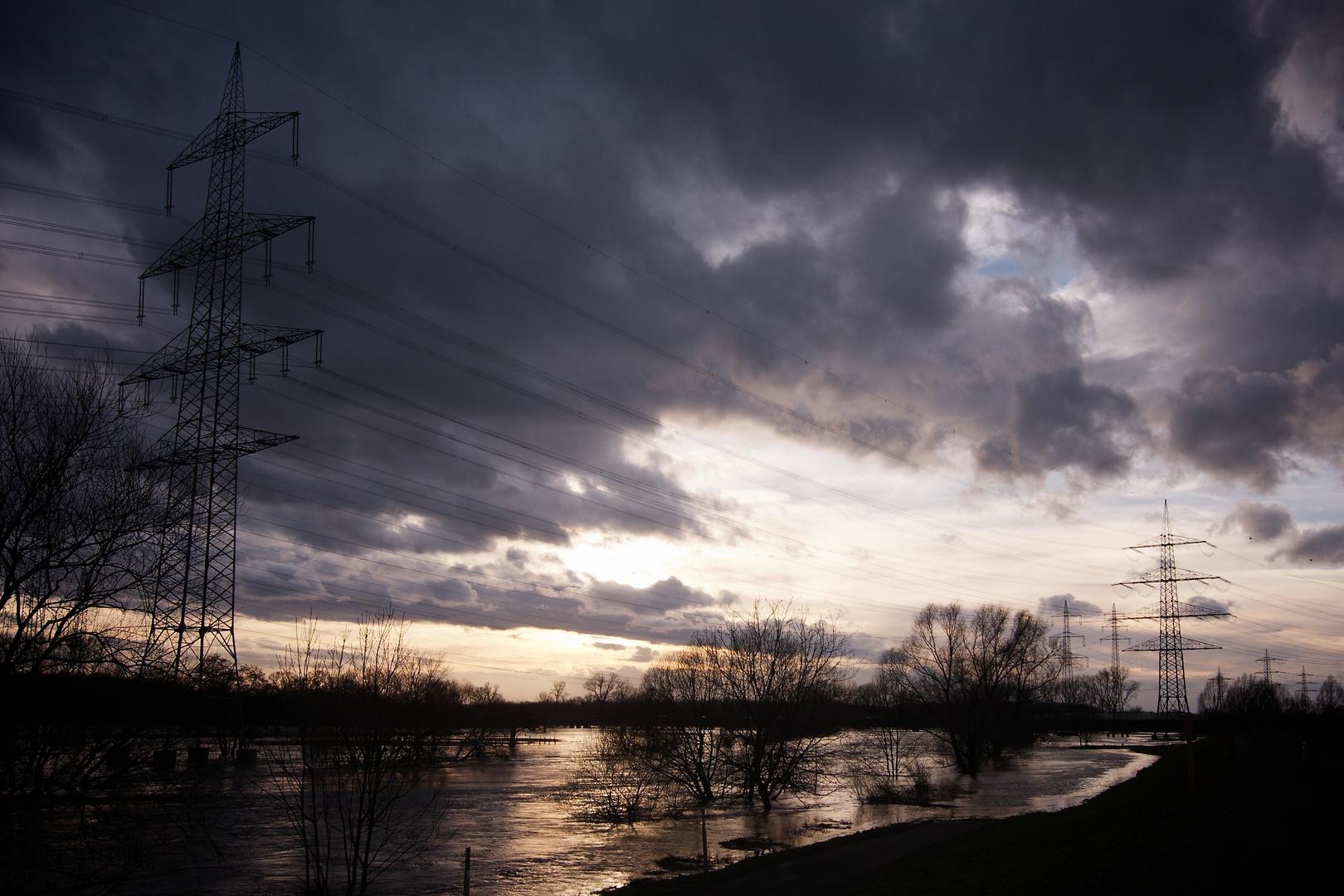 Sieghochwasser Januar 2011 #1