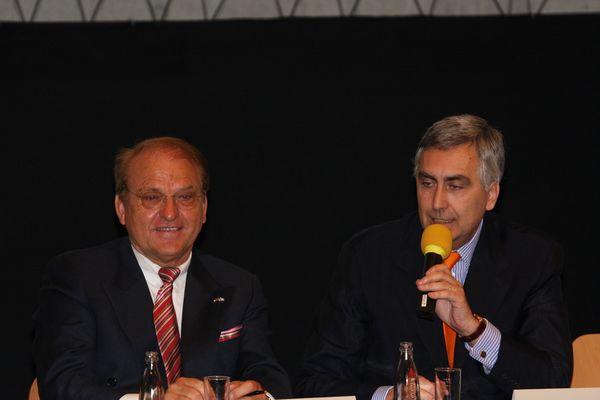 Siemens-Vorstandsvorsitzender Peter Löscher an der Technischen Universität
