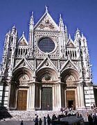Siena (6) Fassade des Doms