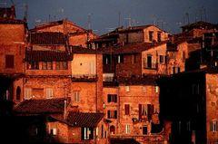 Siena in Rot