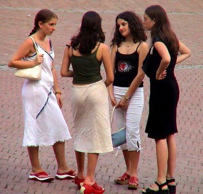 Siena - Piazza del Campo einmal näher betrachtet