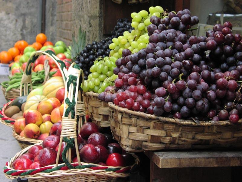 Sienas Früchtekorb