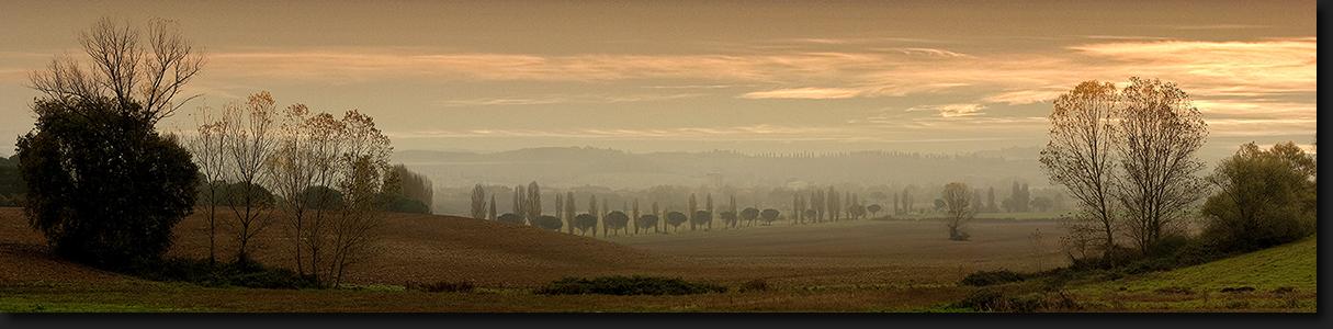 Sieneser Land im November - Toskana