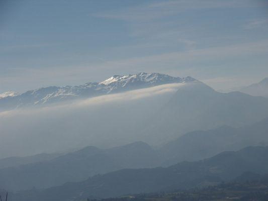 Sierra del Aramo desde Monte Naranco, Oviedo