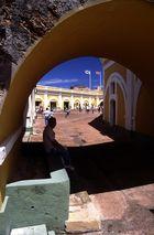 siesta en El Morro