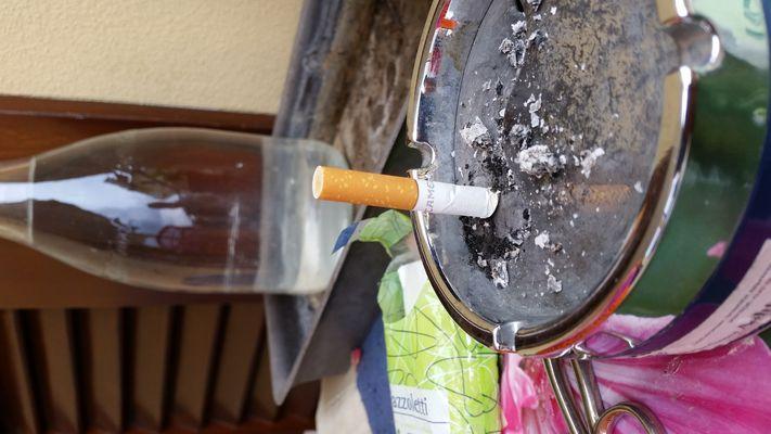 sigaretta spenta